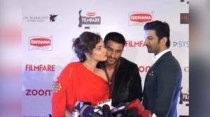 Ranveer FOOLS Sushant to steal a KISS from Ankita Lokhande in front of him
