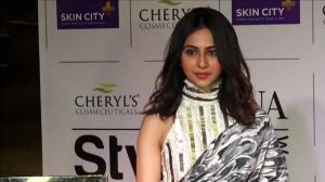 When Rakul Preet Singh's fusion half saree raised the bar of fashion