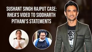 Rhea Chakraborty's tearful video to Sushant Singh Rajput's friend's statements about the actor