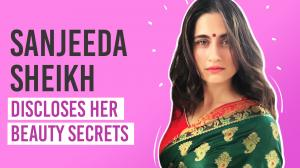 Sanjeeda Sheikh reveals her skincare and haircare secrets