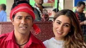 Sara Ali Khan's THESE behind the scene pictures from her...