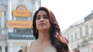 Janhvi Kapoor bedazzles in a white saree while Sara Ali Khan gets back to gym; See LATEST snapped photos