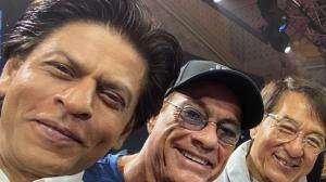 Shah Rukh Khan's pictures with THESE Hollywood biggies are...