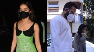 Shraddha Kapoor attending beau Rohan's birthday to Sara Ali Khan spending time with dad Saif; See PAPPED pics