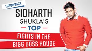Sidharth Shukla's TOP fights in the Bigg Boss house