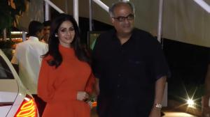 THROWBACK: When Sridevi's impeccable style statement stole the show as she was spotted with Boney Kapoor