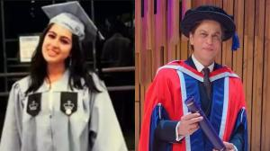 Sara Ali Khan to Shah Rukh Khan: Get to know the degrees T...