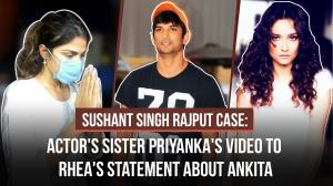 Sushant Singh Rajput Case: SSR's sister Priyanka's viral video to Rhea's statement against Ankita Lokhande