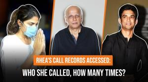 Sushant Singh Rajput, Mahesh Bhatt, Bandra DCP: Here's who Rhea Chakraborty called and how many times