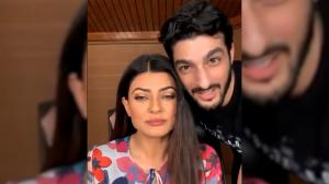 Sushmita Sen and Rohman Shawl got asked about their marriage and THIS is what they replied!