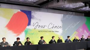 EXCLUSIVE: SEVENTEEN make  their comeback with Your Choice...