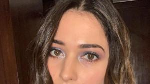Tamannaah Bhatia's eye makeup look is perfect for you to try for your next outing; See Photos
