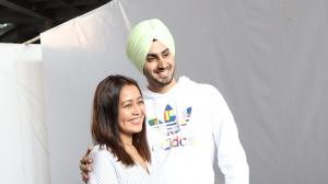The newlyweds Neha-Rohanpreet are back to the bay after celebrating their grand wedding reception