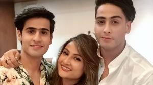 Urvashi Dholakia's special moments with her sons Kshitij a...