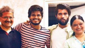 Vijay Deverakonda's precious moments with his family prove they are his favourite people; See PHOTOS