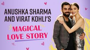 Anushka Sharma and Virat Kohli's magical love story