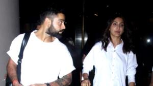 When Anushka Sharma carried a hand painted bag worth more than Rs 2 lakh as she twinned with Virat Kohli