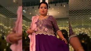 When comedy queen Bharti Singh showed her mehendi, outfit and Karwa Chauth preparations