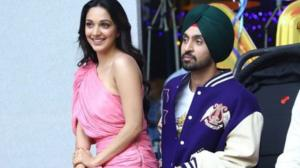 When Diljit Dosanjh promoted his movie wearing a Gucci jacket worth more than 4 Lakh & pricey Versace shoes
