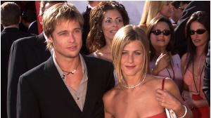 When Jennifer Aniston & Brad Pitt walked the red carpet for the FIRST time after marriage at the Emmy Awards