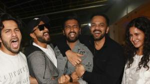 When Katrina Kaif, Ranveer Singh, Varun Dhawan and Rohit Shetty cheered for Vicky Kaushal post URI screening