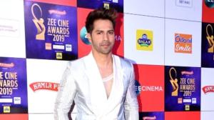 When Varun Dhawan teamed up his BTS member Jin inspired outfit with Dior sneakers at an award show; See Photos