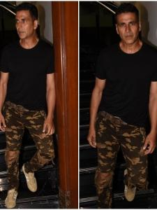 Akshay Kumar promotes his upcoming film Gold in the city