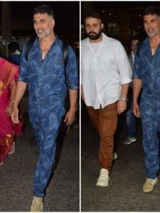 Akshay Kumar returns to the city after vacationing with family in London