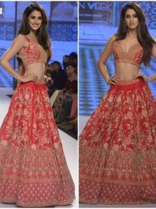 Disha Patani looks ethereal as she walks the ramp with grace