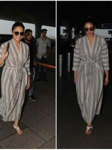 Huma Qureshi snapped by the paps at the airport