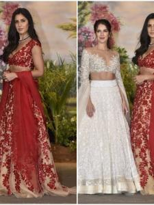 Katrina Kaif arrived with sister Isabelle at the reception party