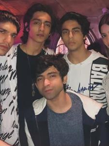 Here's Aryan Khan having a blast with his best friends in these UNSEEN photos