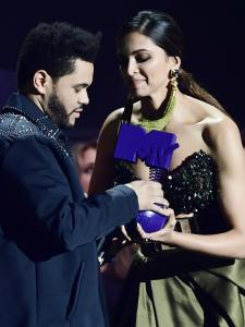 When Deepika Padukone presented an award to The Weeknd at the MTV EMAs 2016; See Throwback Photos