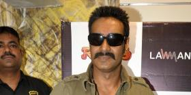 Ajay Devgn visits the LAWMAN Store for 'RASCALS'