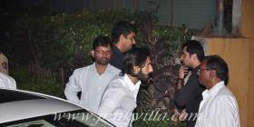 Sanjay Dutt & Zayed Khan at Hrithik's party for Agneepath