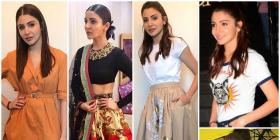 Phillauri Style File: Here is a round-up of Anushka Sharma's promotional looks