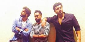 Gunday boys are back! Ranveer, Arjun, and choreographer Bosco stroll down the memory lane with this pic