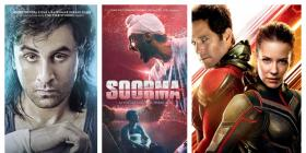 Sanju enters the Rs 300 crore club; Soorma and Ant-Man and the Wasp show steady growth at the box office