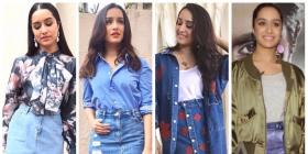 Haseena Parkar: Shraddha Kapoor shows us how to style mini skirts in her promotional style