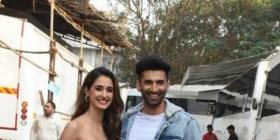 WATCH: Disha Patani and Aditya Roy Kapur are total goofs in THIS boomerang video from the sets of Malang
