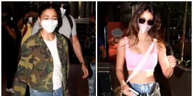 Alia Bhatt, Disha Patani opt for comfort over fashion at the airport as they return from Maldives: Yay or Nay?