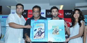 Ranbir Kapoor, Ileana D'Cruz, Anurag Basu at the launch of Barfi! DVD