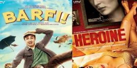 Barfi! makes 100 cr worldwide; Heroine makes Rs. 25 crores