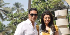 Akshay Kumar and Kajal Aggarwal promote Special Chabbis