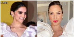 Fashion Faceoff: Deepika Padukone or Gal Gadot: Who wore the ruffle blouse and black pants combination better?