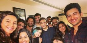 The Sky Is Pink: Farhan Akhtar celebrates the film as Vidya Balan hosts a party but we miss PeeCee in frame