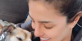 Priyanka Chopra captures a 'Mommy and I' moment with her puppy Diana as she enjoys a 'Perfect Saturday'