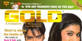 Kajol & Ajay on Gold