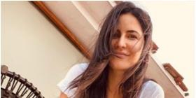 Katrina Kaif enjoys the cool breeze on her rooftop as she lights up the internet with her smile; See PHOTO