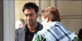 Salman & Ajay on the Sets of London Dreams